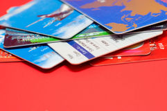 Plenty of credit cards Stock Image