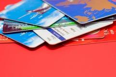 Plenty of credit cards Stock Image