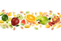 Plenty of fruits royalty free stock images