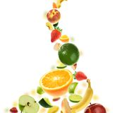 Plenty of fruits Stock Photo