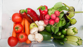 Plenty of fruits and vegetables. Stock Photos