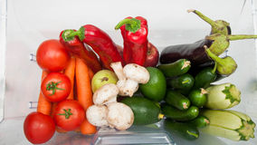 Plenty of fruits and vegetables. Royalty Free Stock Image