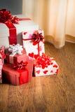 Plenty of gifts Royalty Free Stock Photo