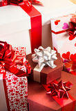 Plenty of gifts Stock Photography