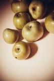 Plenty of green delicious apples Stock Image