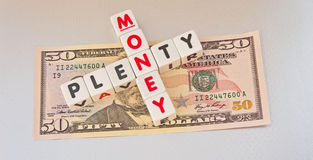 Plenty of money; US Dollars Royalty Free Stock Photo