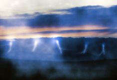 Plenty Of Lightning Royalty Free Stock Photos