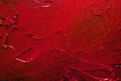 Red textured wall surface Stock Images
