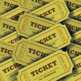 Plenty of tickets Royalty Free Stock Image