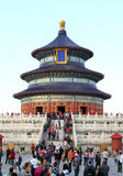 Plenty tourists to see Forbidden City, Beijing Royalty Free Stock Photos