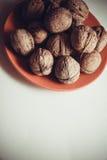 Plenty of walnuts Stock Photography