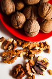 Plenty of walnuts Royalty Free Stock Images