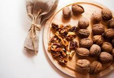 Plenty of walnuts Royalty Free Stock Photo