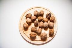 Plenty of walnuts Royalty Free Stock Photos