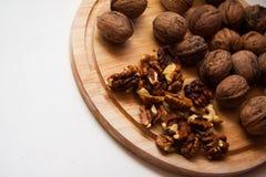 Plenty of walnuts Royalty Free Stock Images