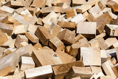 Plenty of wooden bricks Stock Photos