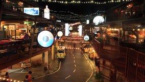 Plernwan het oude winkelen inbouwend Hua Hin stock afbeeldingen