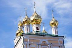 Ples镇,俄罗斯建筑学  免版税图库摄影