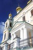 Ples镇,俄罗斯建筑学  库存照片