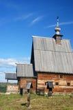 Ples Εκκλησία της αναζοωγόνησης Χριστού στο υποστήριγμα Levitan Στοκ Εικόνες