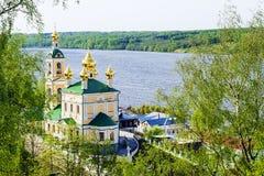 Ples, Ρωσία χρυσό δαχτυλίδι Ρωσία Στοκ Εικόνα