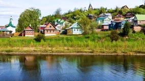 Ples, Russie Boucle d'or de la Russie Image libre de droits