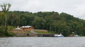 Ples Sikt från Volgaen Arkivbilder