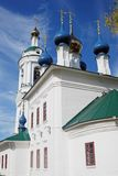 Ples town, Russia. Saint Barbara church Royalty Free Stock Images