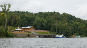 Ples Vista dal Volga Immagini Stock