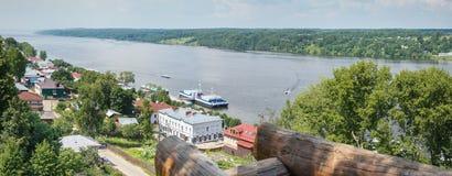 Ples Volga Rússia Foto de Stock