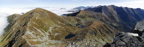 Plesa Jamnicka στα βουνά δυτικού Tatra Στοκ εικόνες με δικαίωμα ελεύθερης χρήσης