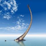 Plesiosaur Elasmosaurus Royalty Free Stock Photos