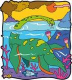 Plesiosaurus Immagini Stock