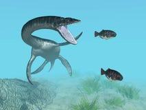 Plesiosaurus. Computer generated 3D illustration with Plesiosaurus Royalty Free Stock Photo