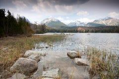 pleso λιμνών strbske Στοκ εικόνες με δικαίωμα ελεύθερης χρήσης