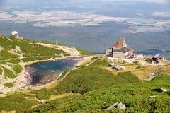 Pleso του Tarn Skalnate σε υψηλό Tatras, Σλοβακία Στοκ φωτογραφίες με δικαίωμα ελεύθερης χρήσης