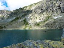 Pleso Capie λιμνών στα βουνά Tatras Στοκ Εικόνες