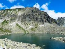 Pleso Capie λιμνών στα βουνά Tatras Στοκ φωτογραφία με δικαίωμα ελεύθερης χρήσης