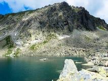 Pleso Capie λιμνών στα βουνά Tatras Στοκ φωτογραφίες με δικαίωμα ελεύθερης χρήσης