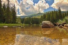 Pleso di Vrbicke, dolina di Demanova, Slovacchia Fotografia Stock