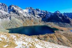 Pleso Hincovo λιμνών βουνών Στοκ Εικόνες