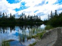 Pleso Jamske λιμνών στα βουνά Tatras Στοκ εικόνες με δικαίωμα ελεύθερης χρήσης