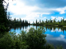 Pleso Jamske λιμνών στα βουνά Tatras Στοκ Εικόνες