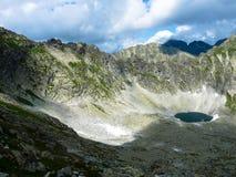 Pleso Okruhle λιμνών στα βουνά Tatras Στοκ εικόνες με δικαίωμα ελεύθερης χρήσης