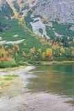 Pleso Popradske - Tarn σε υψηλό Tatras, Σλοβακία Στοκ Εικόνα