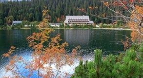 Pleso Popradske - Tarn σε υψηλό Tatras, Σλοβακία Στοκ εικόνες με δικαίωμα ελεύθερης χρήσης