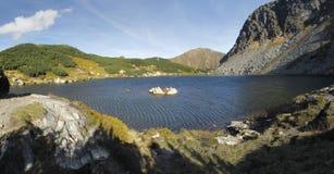 Pleso Rohacske Horne ake στα βουνά δυτικού Tatra Στοκ εικόνες με δικαίωμα ελεύθερης χρήσης