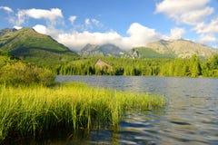 Pleso Strbske λιμνών βουνών Στοκ Εικόνες
