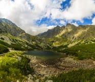 Pleso Velicke λιμνών βουνών Στοκ φωτογραφίες με δικαίωμα ελεύθερης χρήσης