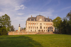Pless城堡在波兰 免版税库存照片